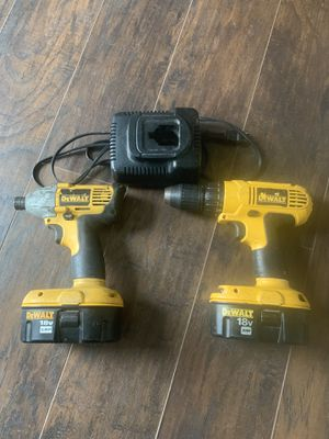 De Walt 18v impact and drill for Sale in Madison, OH