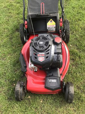 Craftsman Lawnmower Platinum Series Self Propelled 7.25Hp 163cc Comes With Bag for Sale in Westmont, IL