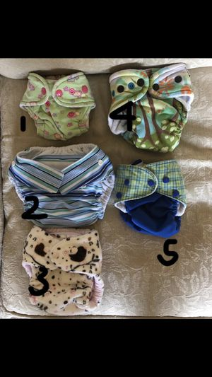 Cloth diapers for Sale in Virginia Beach, VA