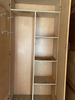 PENDING SALE - Solid Storage Cabinet With Adjustable Shelves for Sale in Covington,  WA