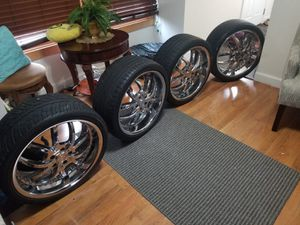 Rims and tires 20'' for Sale in Gaithersburg, MD