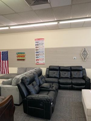 All Brand New Ashley Reclining Sofa & Loveseat with LED. 💥Free Delivery 🔥 for Sale in Norfolk, VA