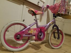Girls princess bike for Sale in Houston, TX
