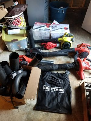 Various leaf blowers for Sale in Burlington, MA