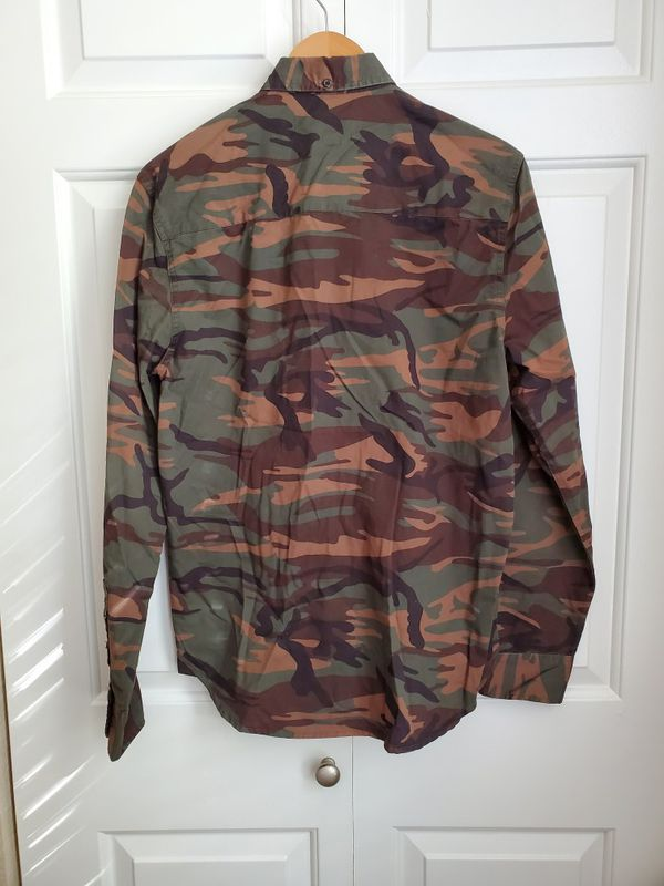 Field & Stream camo button down shirt