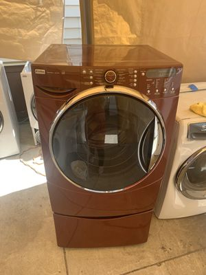 Kenmore elite Front load washing machine with 3 months warranty freedelivery and installation for Sale in Oakland, CA