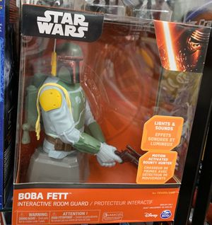 Star Wars boba fett interactive room guard for Sale in Freeport, NY