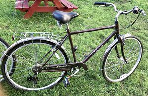 Men 7 speed schwinn bike brown for Sale in Camp Springs, MD