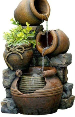 Water Fountain Garden Lawn Backyard Pump BRAND NEW for Sale in Sarasota, FL