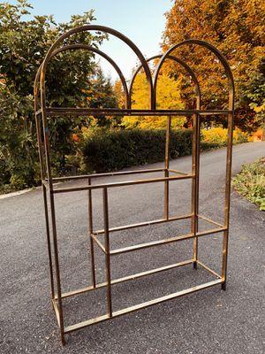 Old vintage mid century brass shelf for Sale in Graham, WA