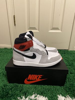NEW NIKE AIR JORDAN 1 RETRO LIGHT SMOKE GREY SIZES 8 9 for Sale in Fort Washington, MD