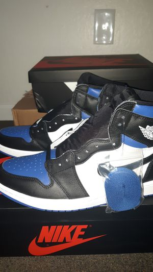 Air Jordan 1 Royal Toe size 12 *NEW for Sale in Castroville, CA
