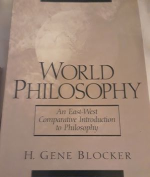 World Philosophy: An East West Comparative Introduction to Philosophy for Sale in Colorado Springs, CO