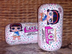 ✨LOL Surprise ✨Re-Released Confetti Underwraps LOT of 2🎉NEW/UNOPENED for Sale in Puyallup, WA
