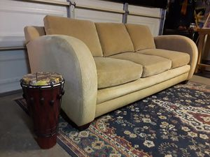Beautiful (and clean) Designer Sofa for Sale in Apple Valley, CA