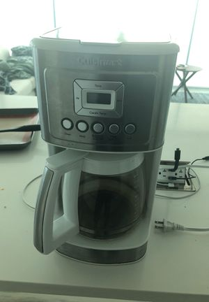 Cuisinart Coffee Machine for Sale in Sea Ranch Lakes, FL