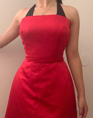 Strapless red elegant dress for Sale in Houston, TX