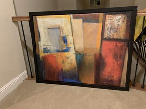 Large size painting with solid frame. for Sale in Hayward, CA