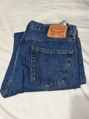 Levi Strauss And Co 505 Blue Denim Jeans - 33x32 for Sale in Burbank, CA