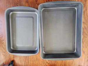 COOK'S ESSENTIALS 2 ROASTING PANS for Sale in Mundelein, IL