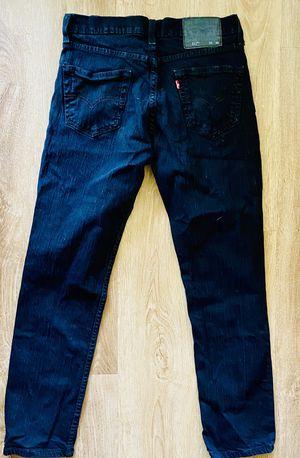 Black Levi's Jeans: Sz. 30x30 for Sale in Zephyrhills, FL