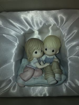 Precious Moments: Life is so cushy with you by my side for Sale in Stamford, CT