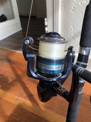 Calypso Seahawk 2 pc 7 foot fishing Rod and Reel for Sale in San Diego, CA