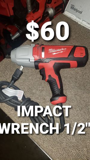 """Milwaukee impactó wrench 1/2"""" for Sale in Fontana, CA"""