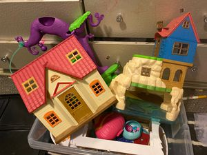Calico critters house, beach house, boat and ice cream parlor for Sale in Layton, UT