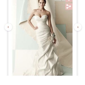 Wedding Dress- Satin Mermaid Cut for Sale in Spring Valley, CA