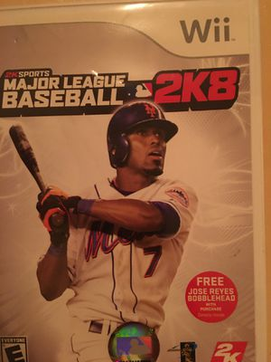 Nintendo Wii mlb 2k8' for Sale in Visalia, CA