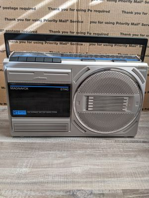 1980s Magnavox AM/FM Boombox for Sale in Fontana, CA