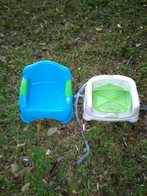 Two booster seats for Sale in Clanton, AL