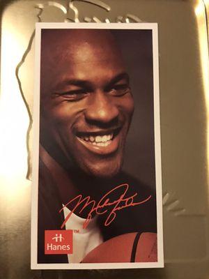 Michael Jordan Hanes Magnate for Sale in Arlington, VA
