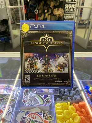 Kingdom Hearts the Story So Far for the PS4 for Sale in San Bernardino, CA