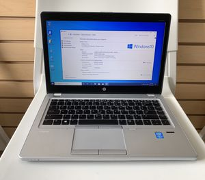 HP Laptop Elitebook Folio 9480m core i5 4th gen 8GB RAM 256GB SSD for Sale in Renton, WA