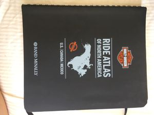 Harley Davidson Ride Atlas of North America for Sale in Signal Hill, CA