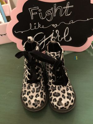 Toddler Leopard Boots for Sale in Winston-Salem, NC