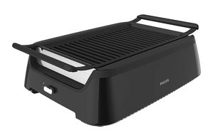 Philips Kitchen Appliances HD6371/94 Philips Smoke-less Indoor BBQ Grill, Avance Collection, 5, Black for Sale in Alexandria, VA