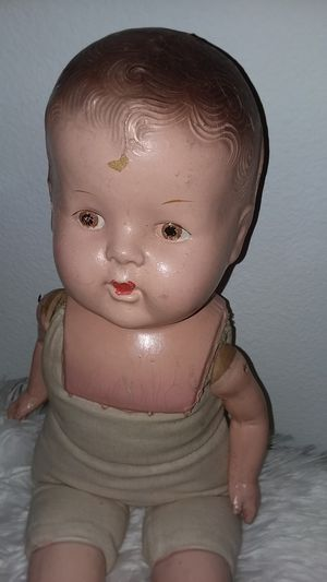 """Antique doll straw body 22"""" for Sale in Upland, CA"""