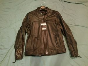 FOR SALE: HARLEY DAVIDSON LEATHER JACKETS/ CHAPS for Sale in Godfrey, IL