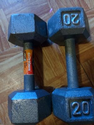 20 pound weights for Sale in Houston, TX