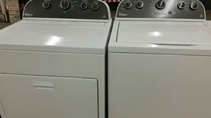 Washer and dryer w warranty for Sale in Bailey's Crossroads, VA