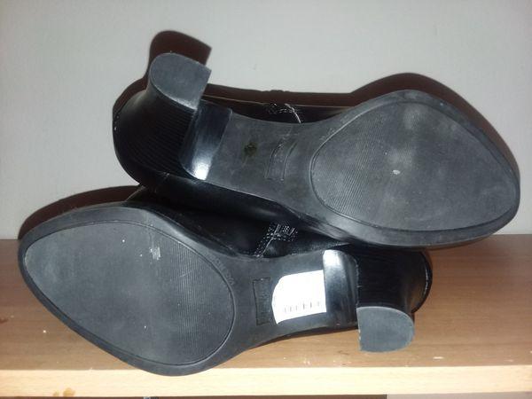 Miss Bison Black Boots 8