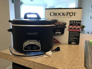 Crock Pot Slow Cooker for Sale in Waldorf, MD