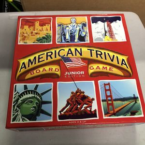 American Trivia board game for Sale in Mountain View, CA