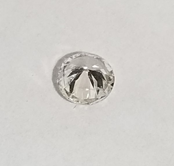 Loose Natural Round Full Cut Brilliant Diamond 0.16 cts