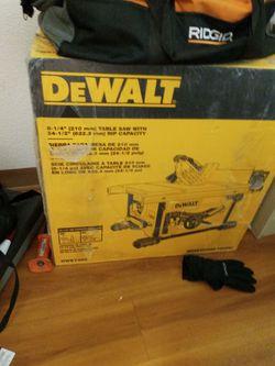 Dewalt Table Saw for Sale in Billings,  MT
