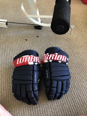 Warrior hockey gloves pro stock custom for Sale in Las Vegas, NV