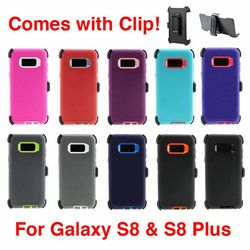 Galaxy S8 / S8+ Defender Case with Belt-Clip Holster for Sale in Kissimmee,  FL